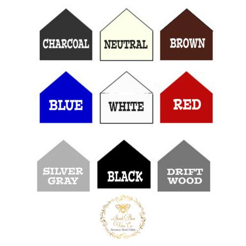 All Natural Wood Furniture Wax Polish Seals Distressing Antiquing Color Waxes
