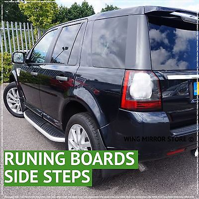 Running Boards, Side Steps for Land Rover Freelander 2 07-15
