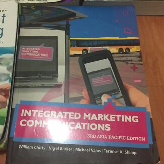 Integrated marketing communication textbooks gumtree australia integrated marketing communications 3rd edn fandeluxe Choice Image