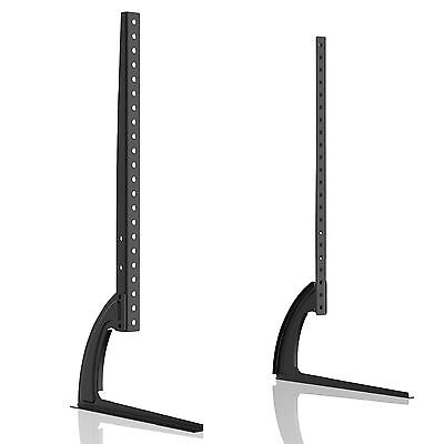 "Universal Table Desk Pedestal TV Stand Screen Monitor Riser for LCD LED 42""-70"""