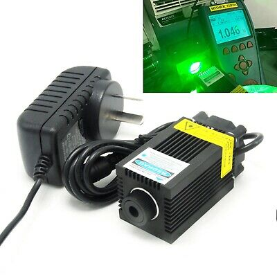 515nm 1w Green Focusable Dot Engraving Laser Module 1000mw Diode 12v Adapter