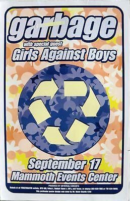 GARBAGE 1997 DENVER CONCERT TOUR POSTER