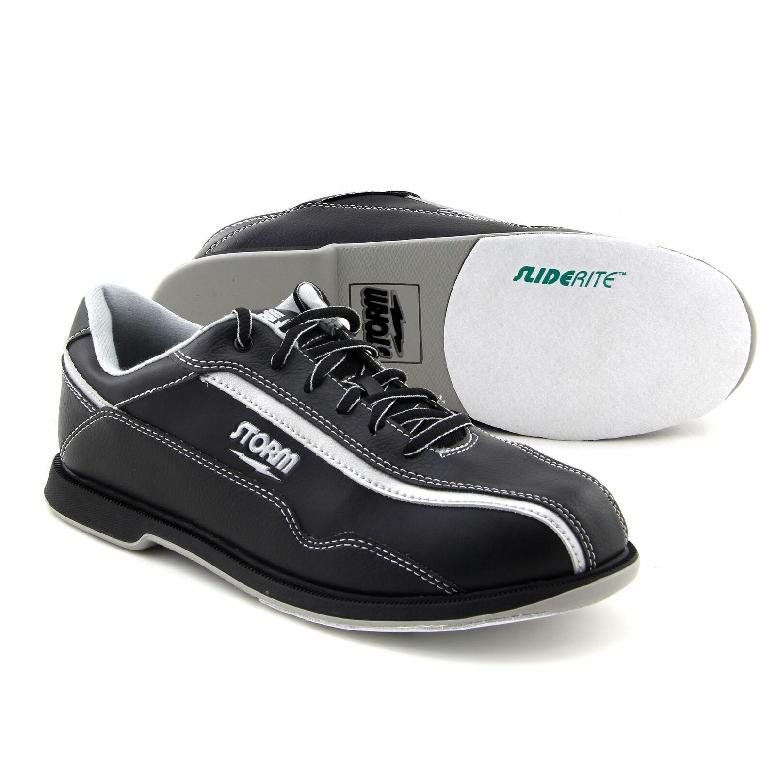 Men's Bowling Shoes storm Volkan Black Silver, Right & Lefth