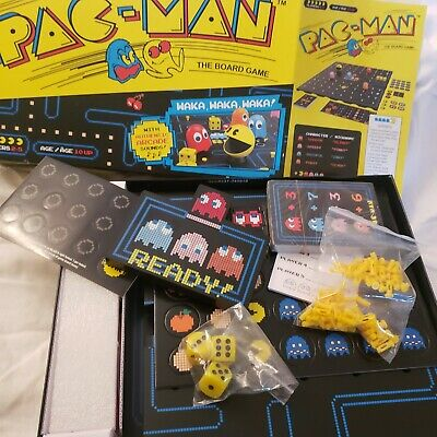 PAC-MAN Board game New 2019, 80's Retro Fun New Opened Complete 2-5 players