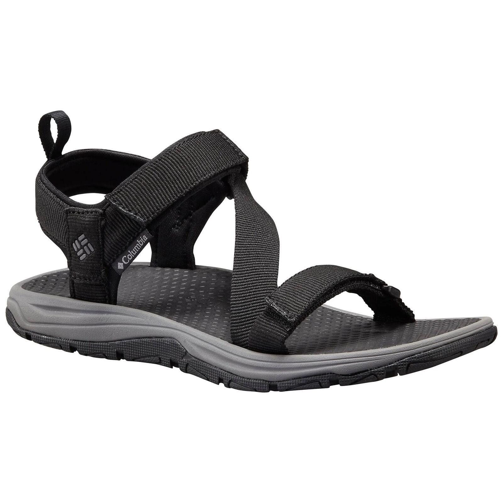 Columbia 1718431 010 Wave Train Black / City Grey Men's Sandals
