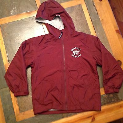 Youth M Nylon Fleece Jacket Central Wildcats Cross Threads Unisex Uniform