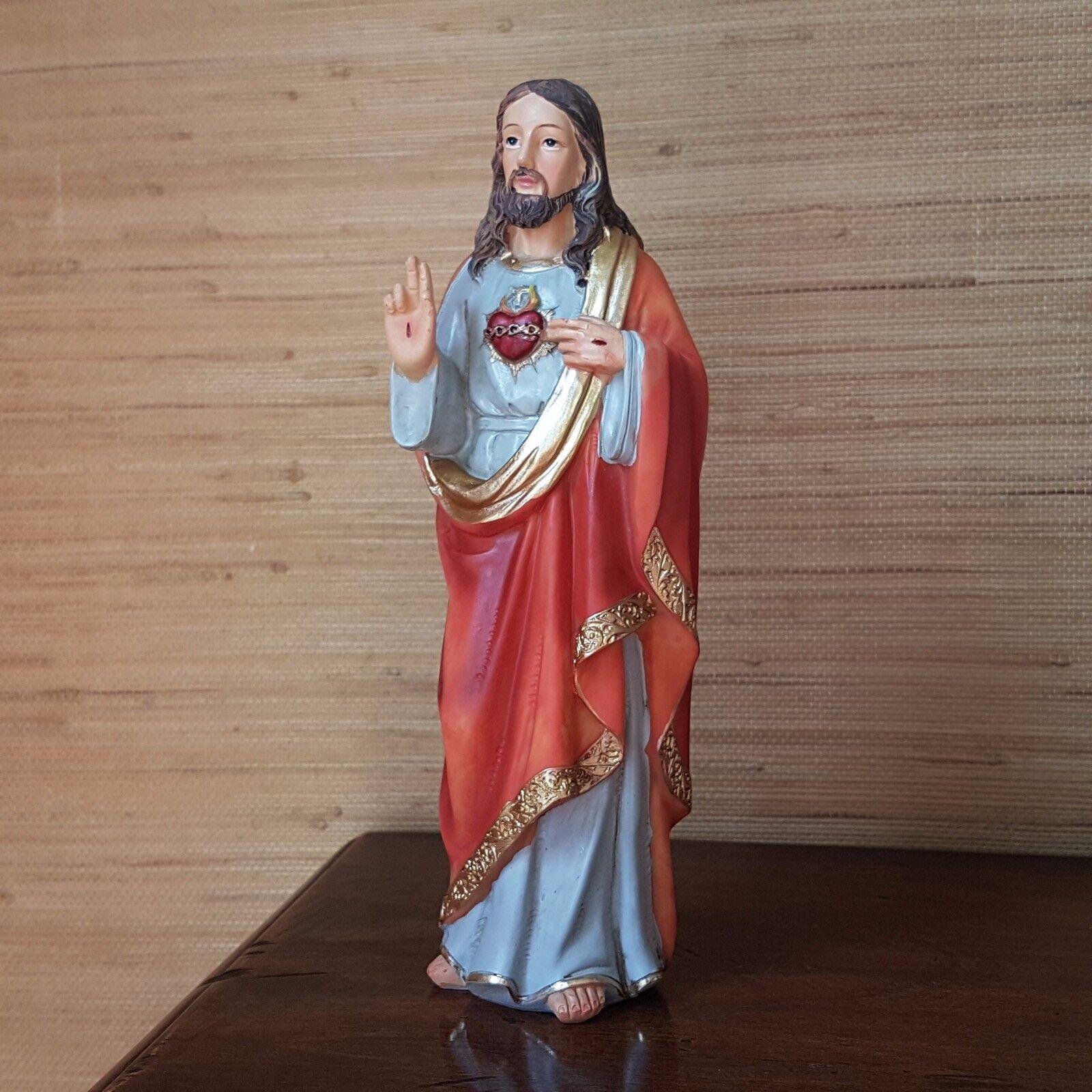 Jesus Christus von Nazareth Deko Figur Heiligenfigur Religion Statue katholisch