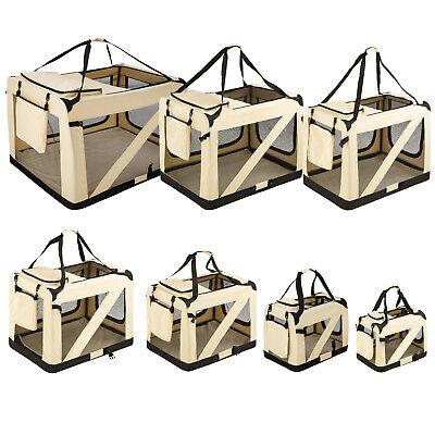 Faltbare Hundetransportbox Transportbox Hundebox Katzen Hunde Auto Box S - XXXXL Box Polyester
