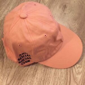 ANTI SOCIAL SOCIAL CLUB PINK CAP