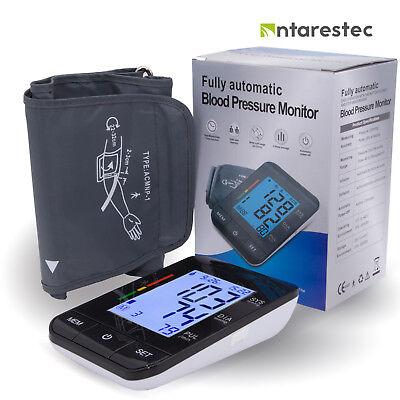 Auto Digital Arm Blood Pressure Monitor Large Cuff Home BP Machine Device Auto Blood Pressure Monitor