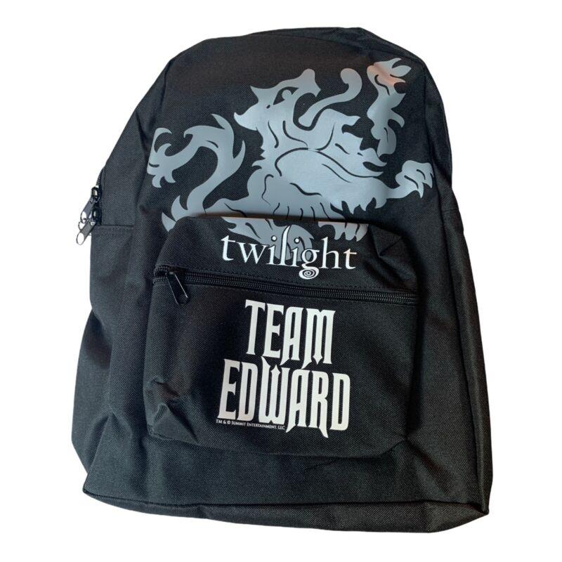 "Twilight ""Team Edward"" Backpack NWT"