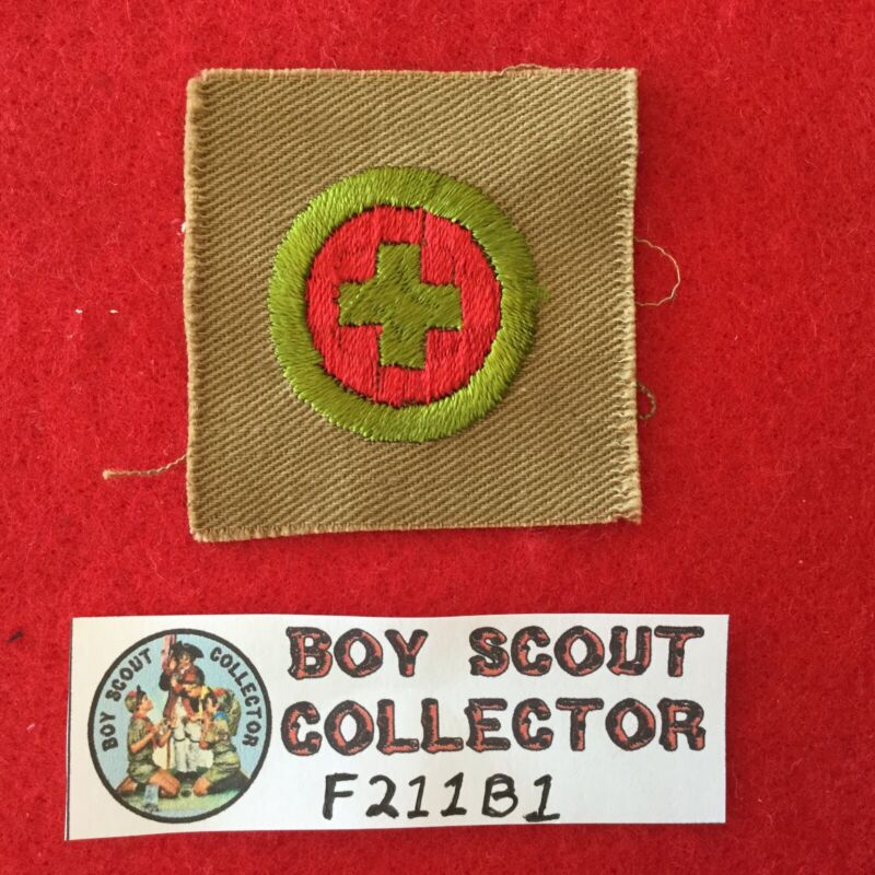 Boy Scout Square Merit Badge First Aid