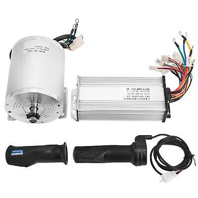 48v 1800w Electric Brushless Controller Motor Grip Fit Atv Go Kart Scooter