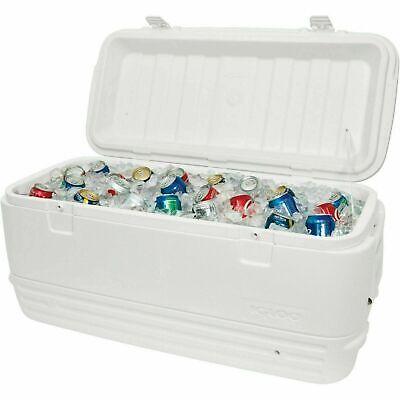 Large Igloo Cooler 120 Qt Quart Max Cold Ice Chest Insulated Marine Fishing