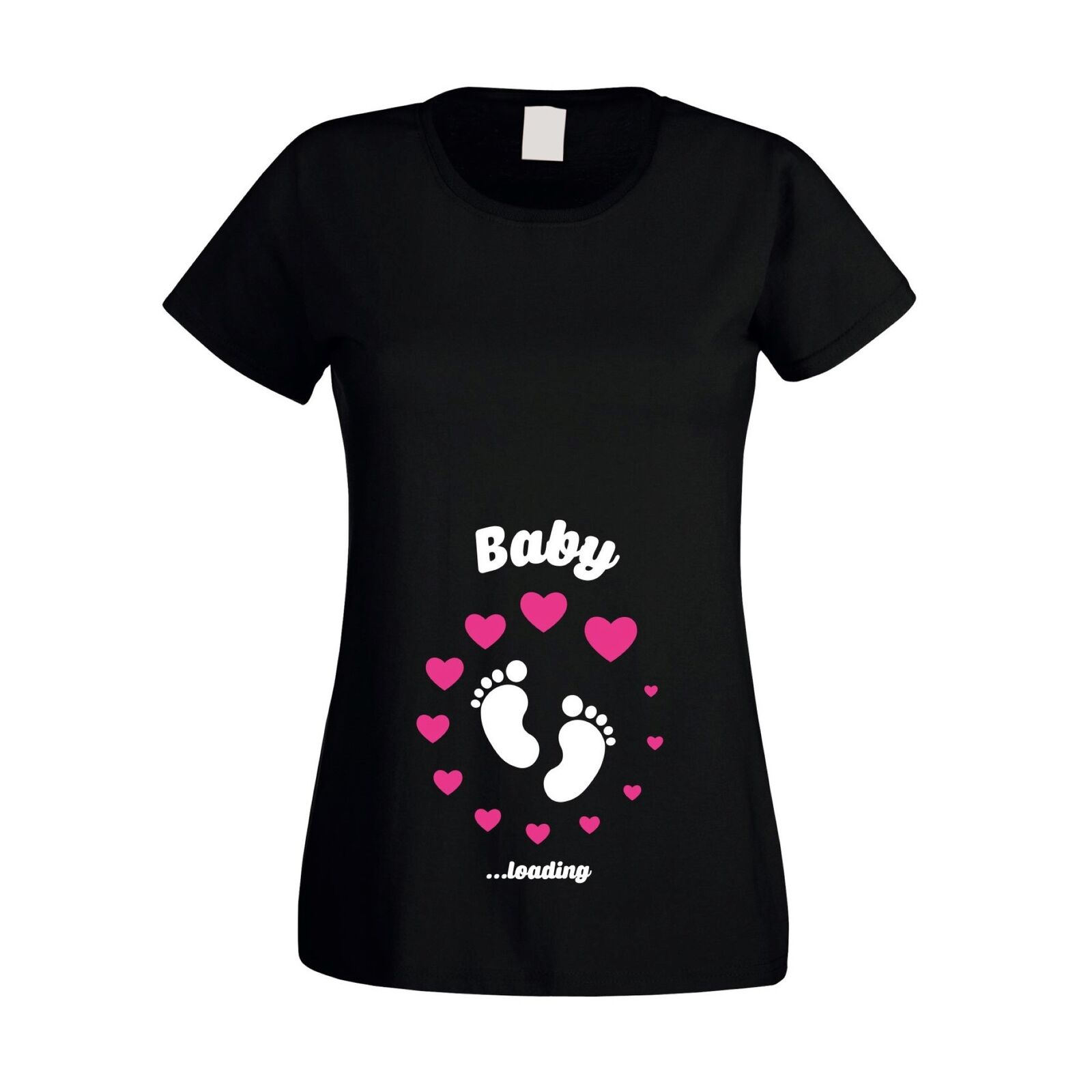 Baby loading - Damen T-Shirt - Geburt Kind Nachwuchs Schwangerschaft
