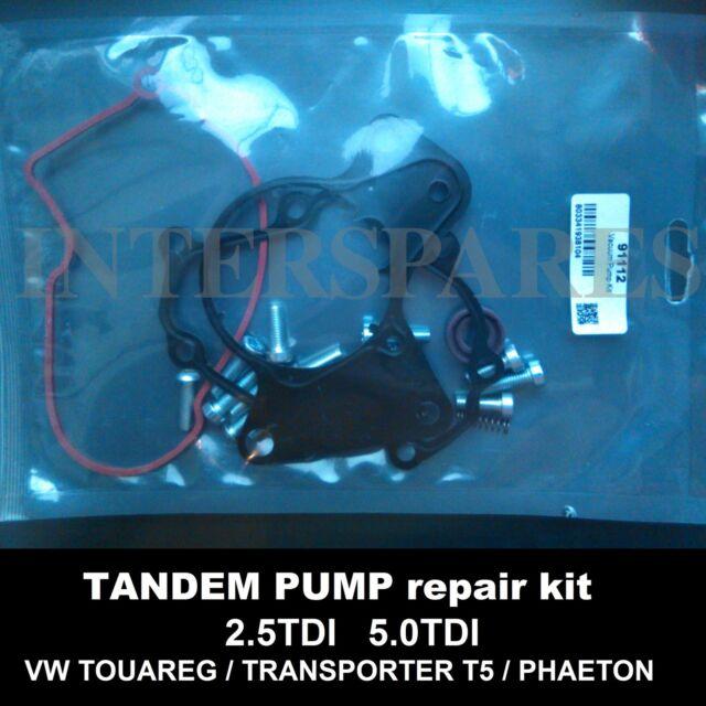 Seals kit for fuel vacuum tandem pump 7.24807.18 07Z145209B 070145209F 070145209
