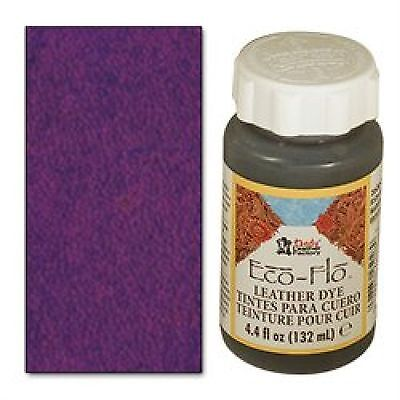 Eco-Flo Deep Violet Leather Dye 4 oz. 2600-15 Tandy Leather Dyes