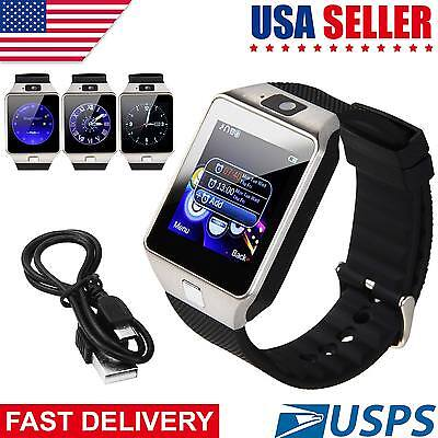 DZ09 Bluetooth Fashionable Watch GSM SIM Camera for iPhone Samsung Android Phone Consort