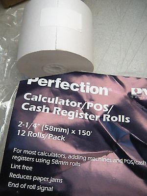 Dozen-pak Paper 1-ply 2 14 X 150 Hypercom T7p-friction Veriphone Cash Registe