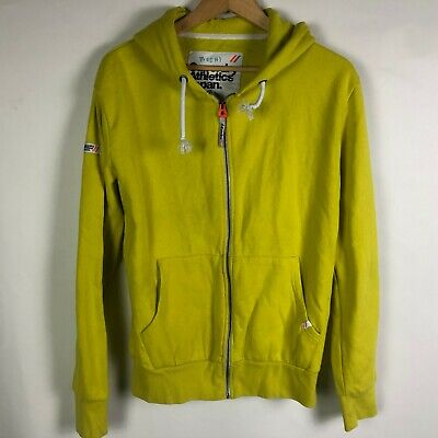 Superdry Athletics Japan Yellow Zip XL Hoodie