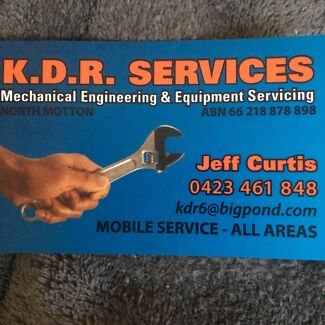 KDR Services Mobile Plant Mechanic and Ultrasonic Cleaning