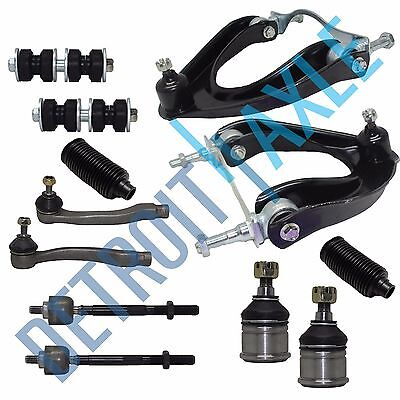 88-91 Honda Civic CRX Ex SI Models 12pc Upper Control Arm Tie Rod Sway Bar - 1991 Honda Civic Dx Sedan