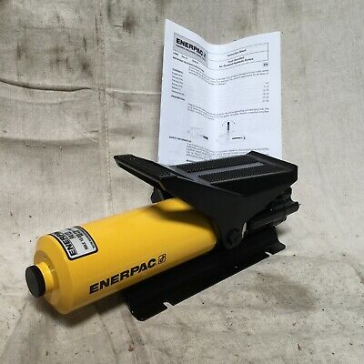 Enerpac Pa-133 Air Powered Hydraulic Pump Capacity Psi 10000