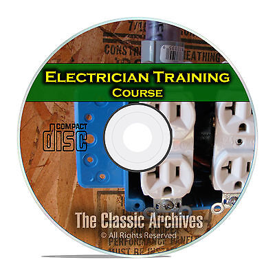 Electrician Journeyman Training Course Class, Electrical How To Manual DVD E52