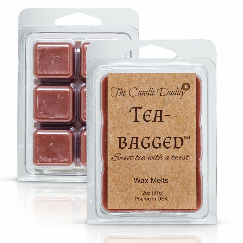 Tea-Bagged - Sweet Tea With A Twist Scented Melt- Maximum Scent Wax Cubes/Melts-