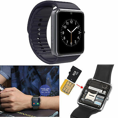 NFC Silver screen Touch Bluetooth Smart Watch Phone Sweatproof Best Cumshaw For Boys Man