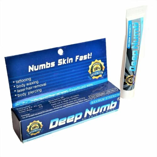 10gr DEEP NUMB Numbing Cream Anesthetic Painless Tattoo Piercing Waxing Laser Dr
