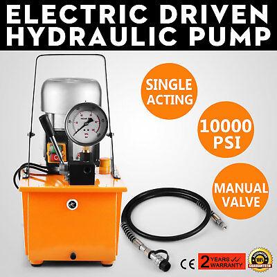 10000 Psi Single Manual Valve Single-circuit 110v Electric Driven Hydraulic Pump