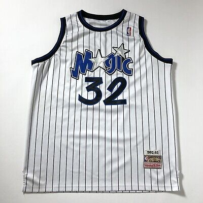 Vintage 90s Mitchell And Ness Orlando Magic O'Neal NBA Jersey Sz XXLarge
