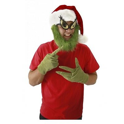 The Grinch Halloween Costume (Adult How The Grinch Stole Christmas Halloween Costume Gloves Hands)
