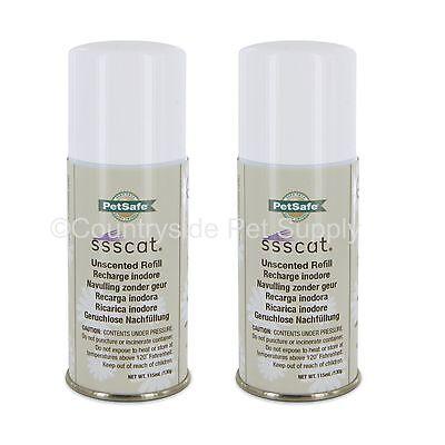 PetSafe SSSCat Spray Deterrent Refill 4.6oz Can, PPD17-16165 (2-Pack)