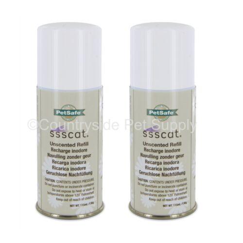 PetSafe SSSCat Spray Deterrent Refill 3.89oz Can, PPD17-16165 (2-Pack)