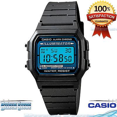 Casio F105W1A Men Sport Digital Watch Water Resistant Auto Calendar Daily Alarm!