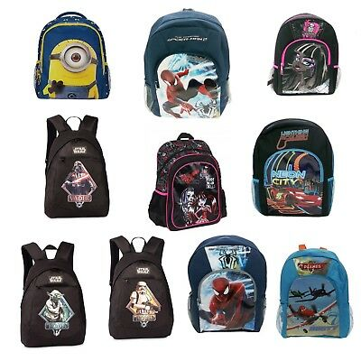 Disney Kinderrucksäcke, Spiderman,Monster High, Planes, Star Wars, Polyester Sal (Disney Monster High)