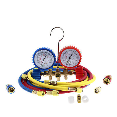 AC Diagnostic Manifold Gauge Set Tester Tool Refrigeration Air Conditioning Kit