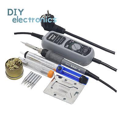 Electric Soldering Iron 60w Adjustable Temperature Welding Switch Tool Set