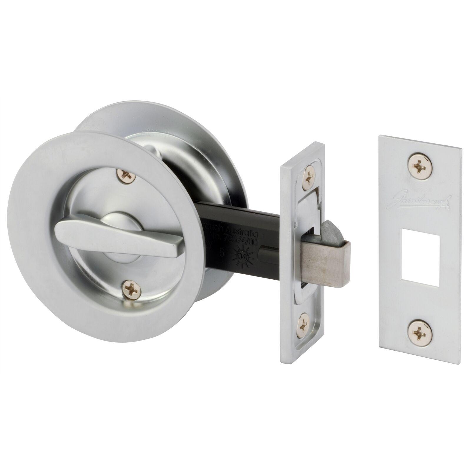 Gainsborough SLIDING CAVITY PRIVACY DOOR LOCK *AUS Brand- Sa