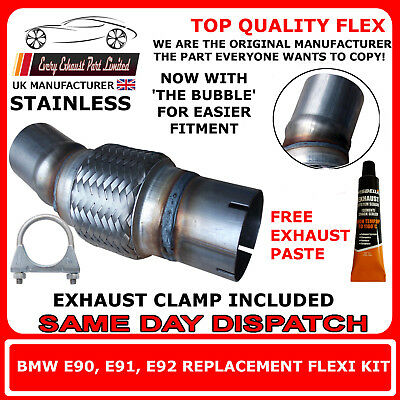 BMW 118D,120D,318D,320D Exhaust Flexi Flex Repair DPF, Cat, Catalyst Stainless