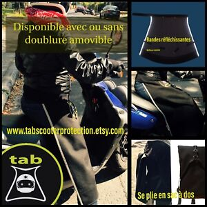 Tablier couvre jambes pour scooter