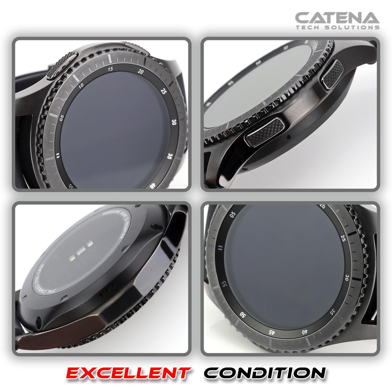 Samsung Gear S3 Frontier Smartwatch SM-R760 46mm WIFI Bluetooth SM-R760NDAAXAR