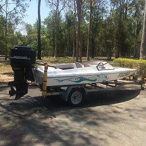 BULLET 1500 speed boat 200HP Forestdale Logan Area Preview
