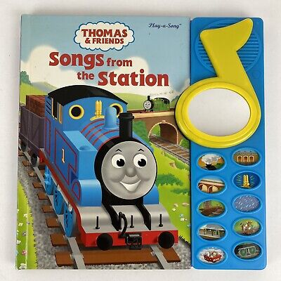 Play-A-Song Book Thomas & Friends Songs From The Train Station 2005 Works Great
