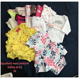 Baby Girl Clothes (NB - 3months) - $20