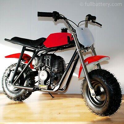 Mini Dirt Bike (Gas powered mini bike - dirt bike for kids - no mixing oil - free shipping - red )