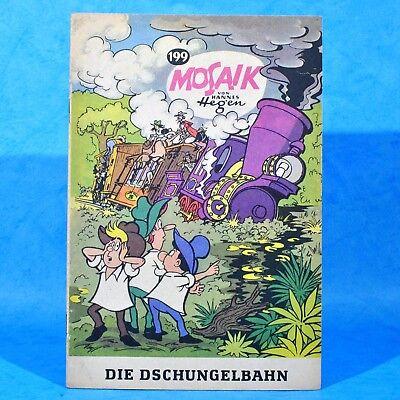 Mosaik 199 Digedags Hannes Hegen Originalheft | DDR | Sammlung original MZ 12