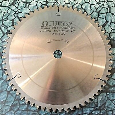 New Ultra Pro Aluminum 8 Metal Cut Carbide Saw Blade 58 Arbor 60t 9000rpm